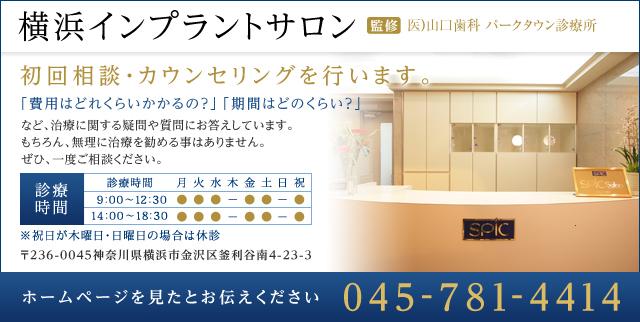 横浜インプラントサロン 監修 Spic Salon Dentaire 電話番号は045-781-4414